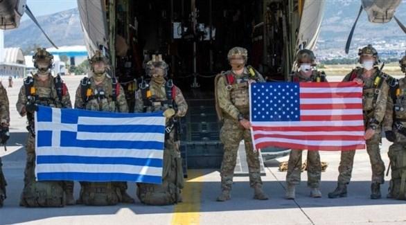 جنود من الولايات المتحدة واليونان (أرشيف)
