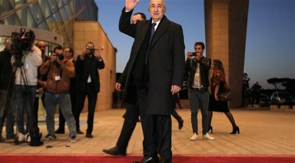 الرئيس الجزائري عبدالمجيد تبون (أرشيف)