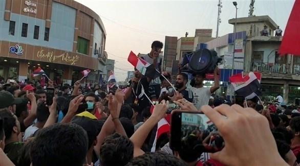 مظاهرات في الناصرية (أرشيف)