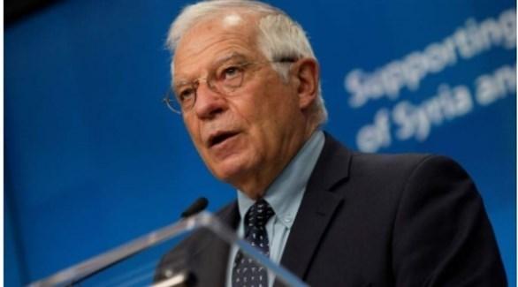 مسؤول السياسة الخارجية في الاتحاد الأوروبي جوزيب بوريل (أرشيف)