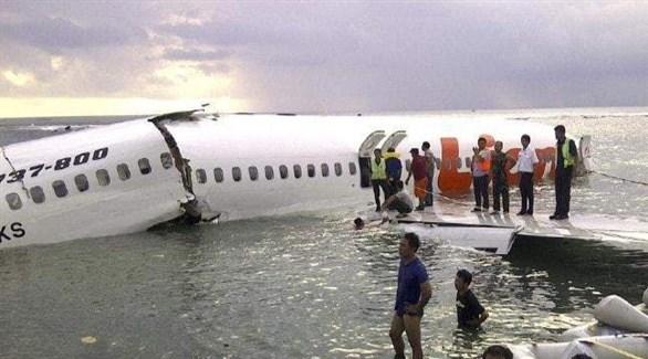 حطام طائرة في إندونيسيا (أرشيف)