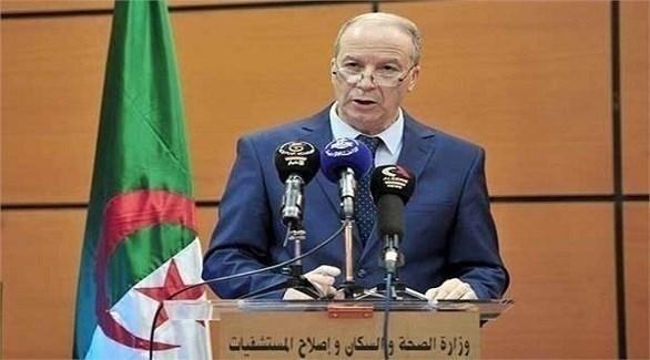 الناطق الرسمي للجنة رصد ومتابعة فيروس كورونا في الجزائر الدكتور جمال فورار (أرشيف)