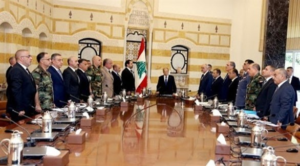 اجتماع سابق لمجلس الأعلى للدفاع في لبنان(أرشيف)