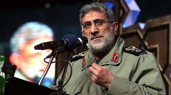 قائد فيلق القدس الإرهابي إسماعيل قآني (أرشيف)