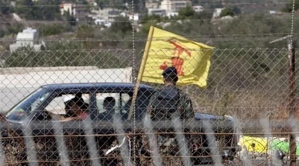 سيارة لحزب الله على الحدود مع إسرائيل (أرشيف)