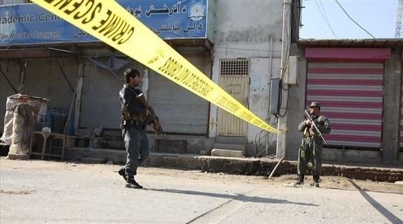 عناصر في الشرطة الأفغانية (أرشيف)