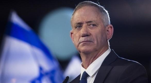 رئيس حزب أزرق أبيض الإسرائيلي بيني غانتس (أرشيف)