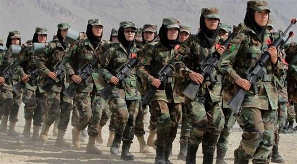 مجندات في الجيش الأفغاني (أرشيف)