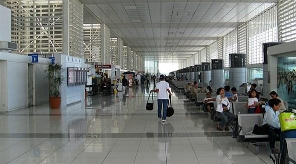 مسافرون في مطار مانيلا الدولي (أرشيف)