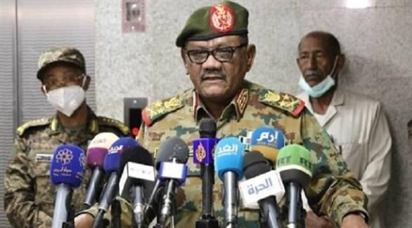 رئيس هيئة الأركان السودانية الفريق أول ركن محمد عثمان الحسين (أرشيف)
