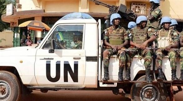 جنود من قوات حفظ السلام في إفريقيا الوسطى (أرشيف)