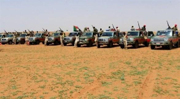 آليات عسكرية سودانية على الحدود مع إثيوبيا (أرشيف)