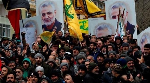 تظاهرة مناصرة للنظام الإيراني (أرشيف / أ ب)