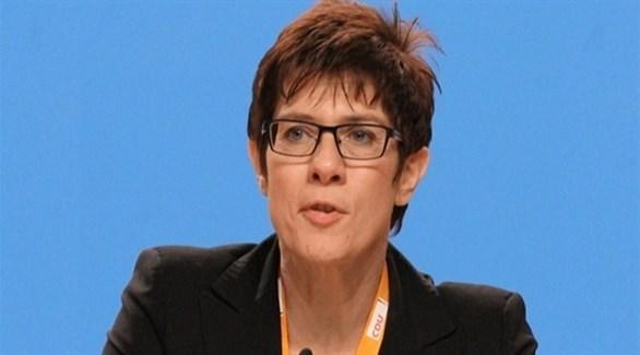 وزيرة الدفاع الألمانية أنيغرت كرامب-كارنباور (أرشيف)