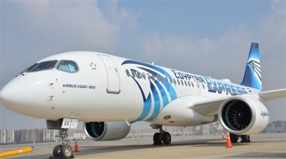 طائرة من أسطول مصر للطيران (أرشيف)
