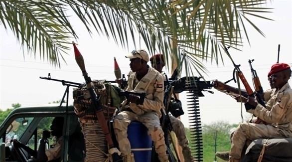 عناصر للجيش السوداني في منطقة الفشقة الحدودية (أرشيف)