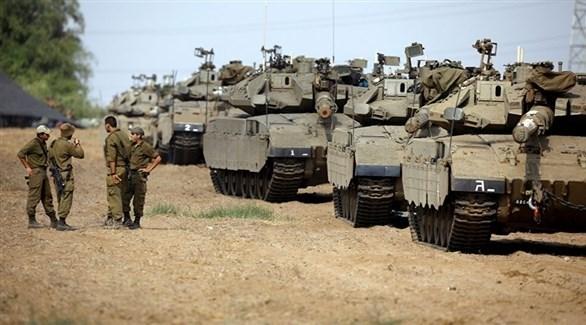 آليات عسكرية إسرائيلية (أرشيف)