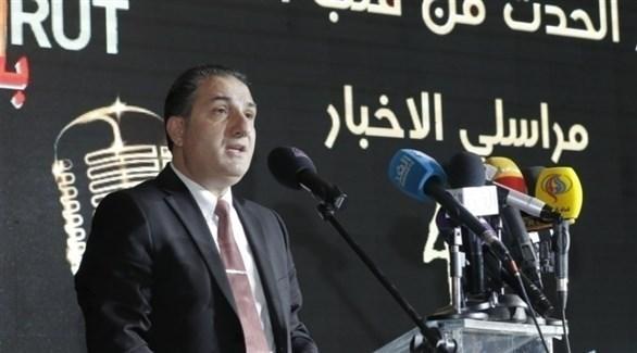 وزير الاتصالات طلال حواط (أرشيف)