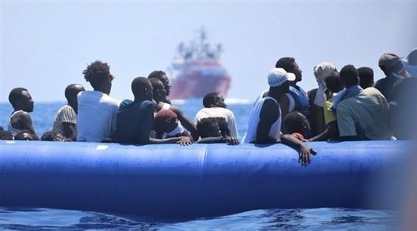 مهاجرون وسط المتوسط (أرشيف)