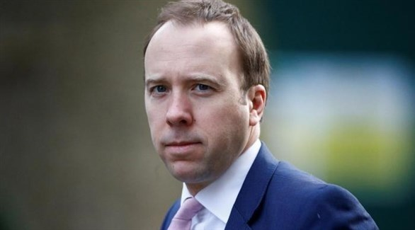 وزير الصحة البريطاني مات هانكوك (أرشيف)