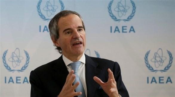 المدير العام للوكالة الدولية للطاقة الذرية رافائيل ماريانو غروسي (أرشيف)