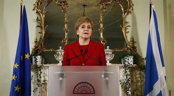 رئيسة وزراء أسكتلندا نيكولا ستيرجن (أرشيف)