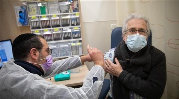 تطعيم إسرائيلي ضد كورونا (أرشيف)