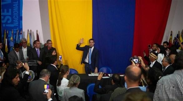 رئيس المعارضة خوان غوايدو  (أرشيف)