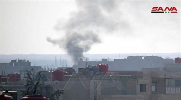 غارات على سوريا (أرشيف / سانا)