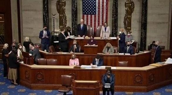 جلسة الكونغرس الأمريكي