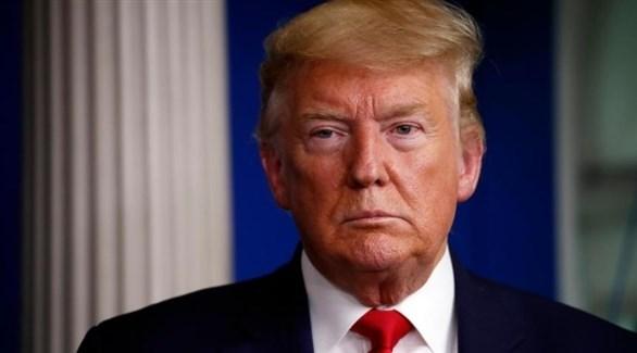 الرئيس الأمريكي المنتهية ولايته دونالد ترامب (أسوشيتد برس)