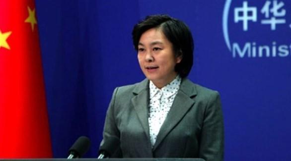 المتحدثة باسم الخارجية الصينية هوا تشون ينغ (أرشيف)