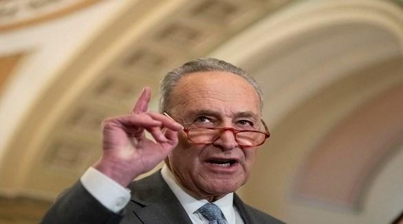 زعيم الديمقراطيين في مجلس الشيوخ الأمريكي تشاك شومر (أرشيف)