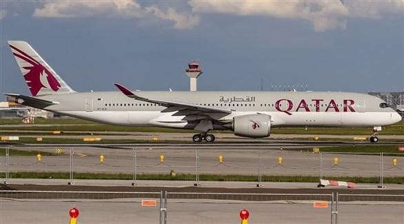 طائرة للخطوط الجوية القطرية (أرشيف)