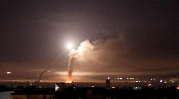 ضربات إسرائيلية سابقة على مواقع سورية (أرشيف)