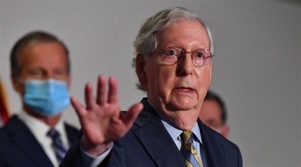 زعيم الأغلبية في مجلس الشيوخ ميتش ماكونيل (أرشيف)