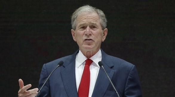 الرئيس الأمريكي الأسبق جورج دبليو بوش (أرشيف)
