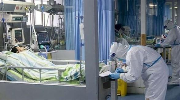 علاج أحد المصابين بفيروس كورونا في ألمانيا (أرشيف)