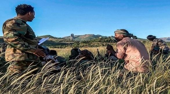 مسلحون من جبهة تحرير شعب تيغراي في إثيوبيا (أرشيف)
