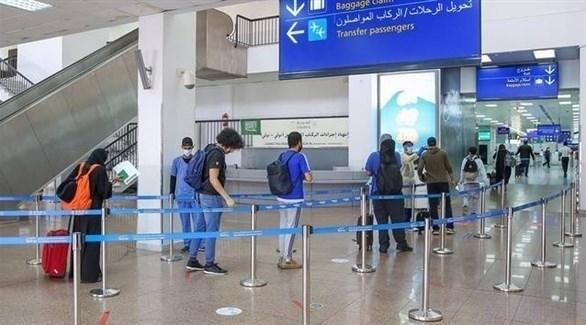 مسافرون في مطار الملك خالد الدولي بالرياض (أرشيف)