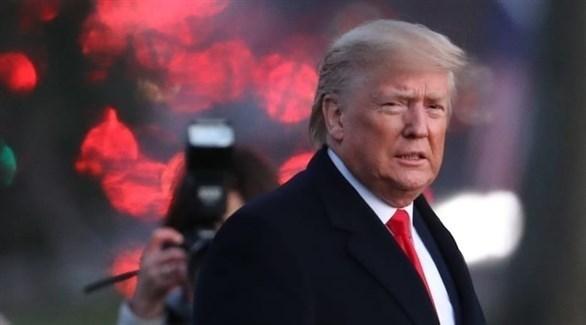 الرئيس الأمريكي المنتهية ولايته دونالد ترامب (أرشيف)