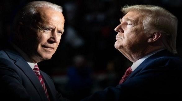 الرئيسان المنتهية ولايته دونالد ترامب والمنتخب جو بايدن (أرشيف)