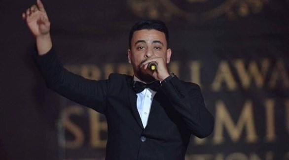 المغني الليبي رمضان سالم بالرحيم (أرشيف)