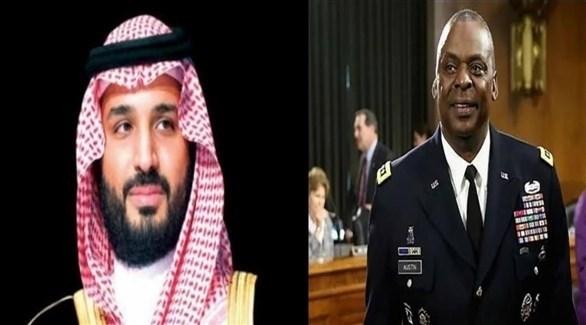 وزير الدفاع الأمريكي وولي العهد السعودي (أرشيف)
