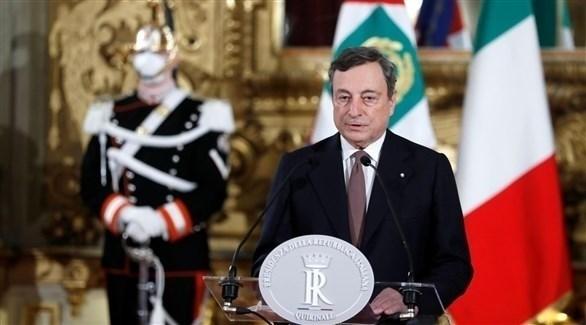 رئيس الحكومة الإيطالي الجديد ماريو دراغي (أرشيف)