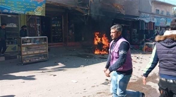 انفجار في ريف دير الزور الشرقي، (المرصد السوري)