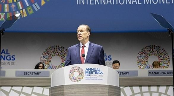 ديفيد مالباس رئيس البنك الدولي (أرشيف)