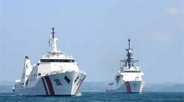 سفينتين لخفر السواحل الصيني  (أرشيف)