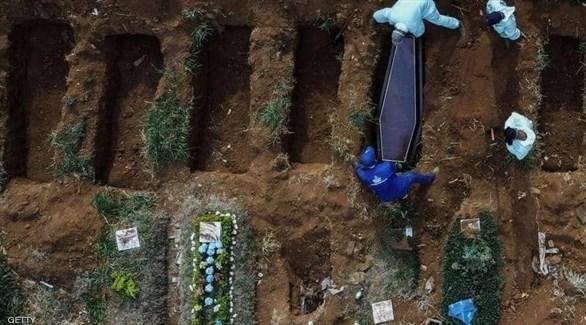 البرازيل تسجل 1212 حالة وفاة جديدة بكورونا
