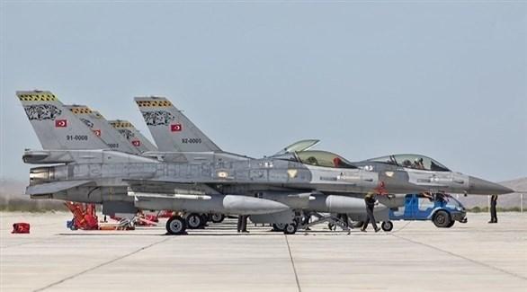 طائرات حربية تركية (أرشيف)